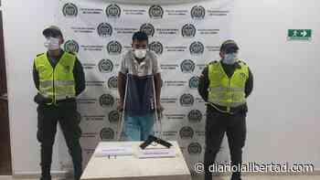 Usaba muletas y estaba armado, en Palmar de Varela - Diario La Libertad