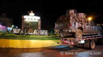 Fotos: Lo que dejó la balacera en Tepalcatepec, Michoacán - MiMorelia.com