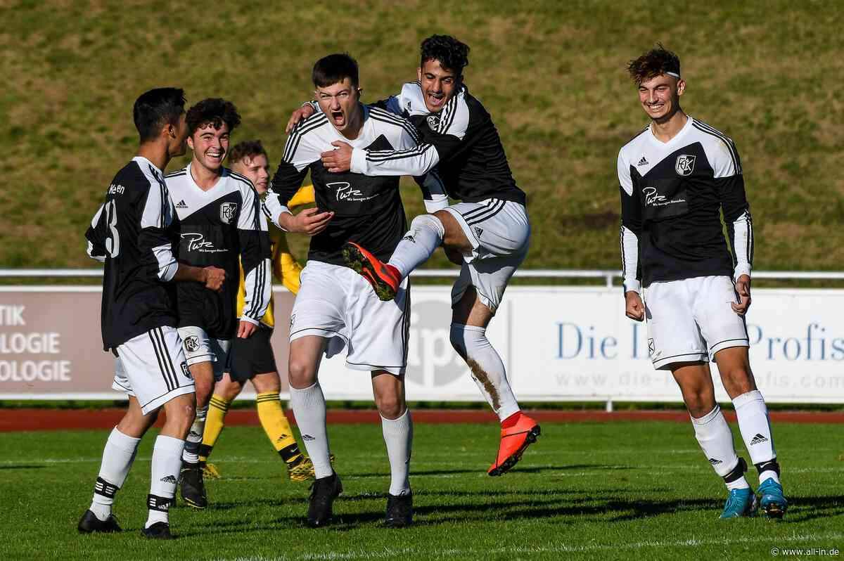 Fußball-Bildergalerie: U19: Bezirksoberliga Schwaben Süd: FC Kempten besiegt SG Ottobeuren / Sontheim mit 7:3 - Kempten - all-in.de - Das Allgäu Online!
