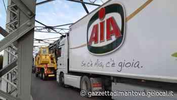 Camion in avaria: in tilt il traffico sul ponte tra Ostiglia e Revere - La Gazzetta di Mantova