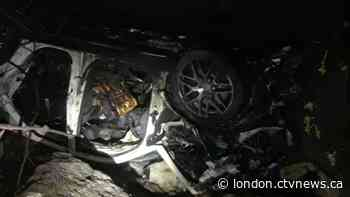 Overnight crash near Komoka leaves driver with life-threatening injuries - CTV News London