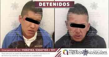 #Atrapan en Atizapan de Zaragoza a dos delincuentes que asaltaban en Villas de La Hacienda - Noticias de Texcoco