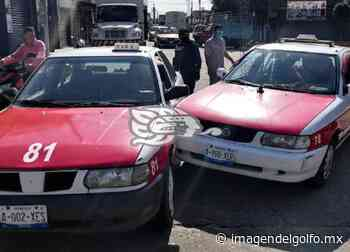 Dos taxistas sufren accidentes en Acayucan y Oluta - Imagen del Golfo