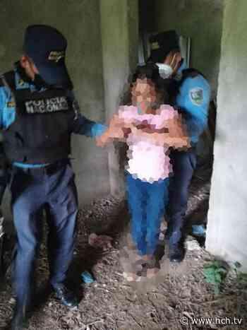 Policía Nacional recupera a menor raptada en La Masica, Atlántida - hch.tv
