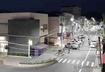 Baixo Guandu tem sistema de iluminação com 3,8 mil pontos de LED - ES Hoje