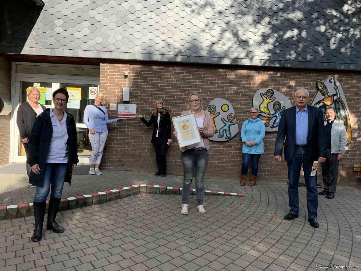 Ense: Kindergarten St. Lambertus zum Familienzentrum zertifiziert - Ense - Lokalkompass.de