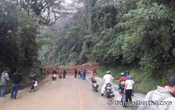 Otro derrumbe en Cocorná, bloqueó la autopista Medellín Bogotá - Diario La Libertad