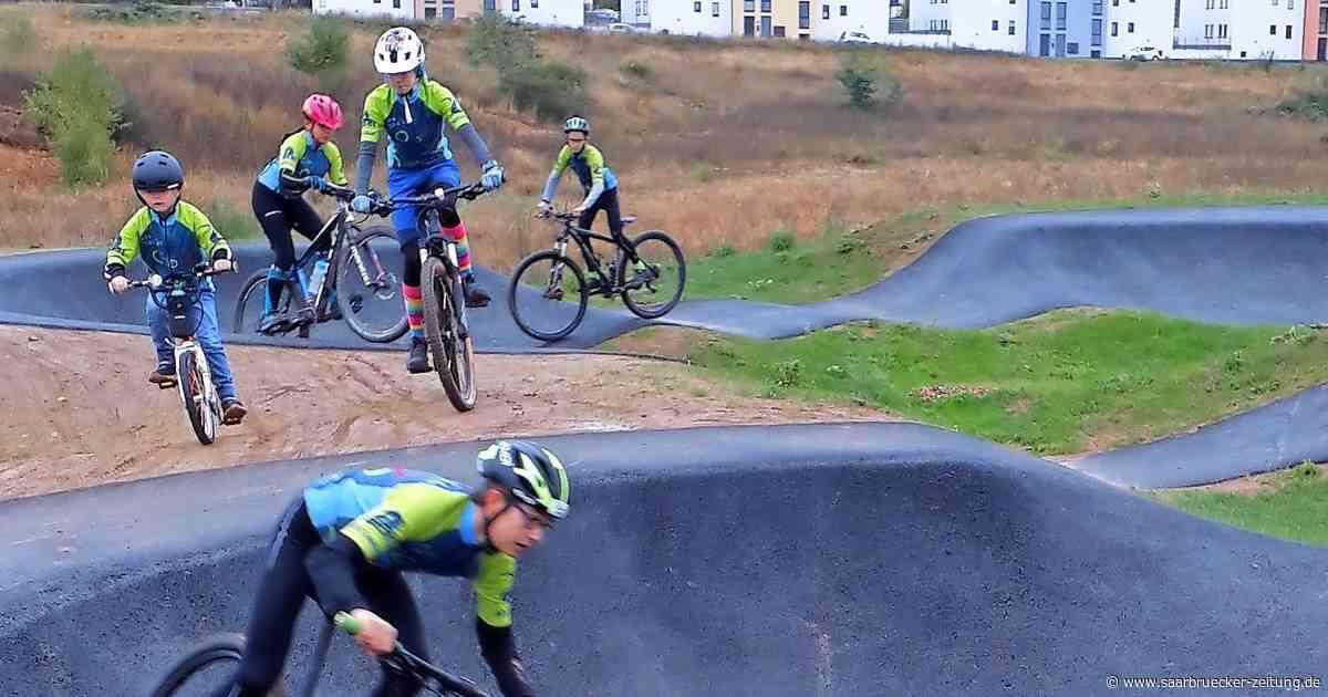 Neue Mountainbike-Anlage in Perl eingeweiht - Saarbrücker Zeitung