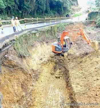 Cierre temporal de la vía La Ceiba - Quinchía - Eje21