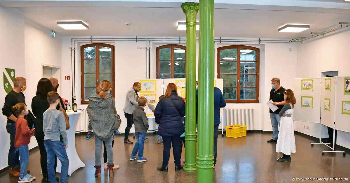Corona - Malwettbewwerb für Kinder - Ausstellung im Kulturbahnhof Bexbach - Saarbrücker Zeitung