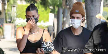 Hailey Bieber Shows Off Midriff During Dinner & Lunch Out With Justin Bieber