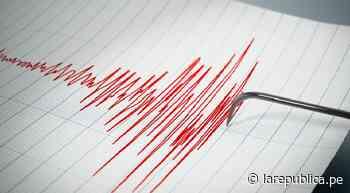 Fuerte sismo de magnitud 5,5 se registra en Colombia - LaRepública.pe