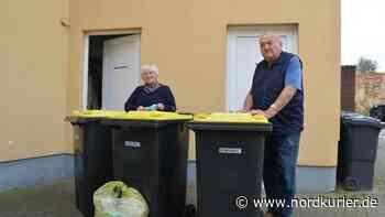 Leserauftrag in Altentreptow: Und plötzlich standen die gelben Tonnen vor der Tür - Nordkurier