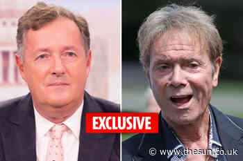 Piers Morgan will talk to Cliff Richard about his sex abuse allegation hell in an emotional episode of Life - The Sun