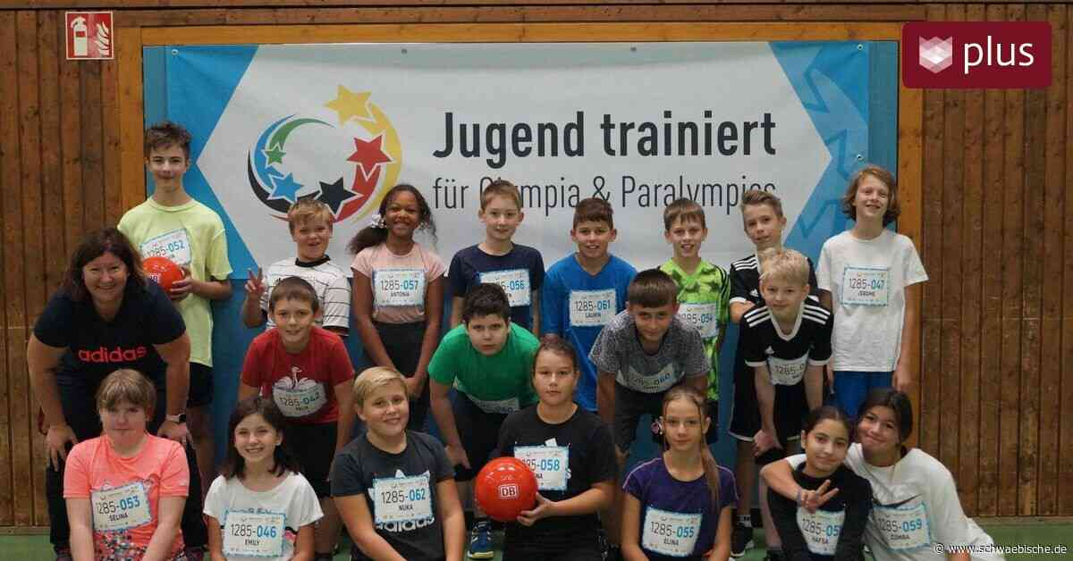 Schüler aus Meckenbeuren treiben am Aktionstag Sport - Schwäbische