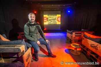 Alkenaar start pop-upcinema in zijn magazijn (Alken) - Het Nieuwsblad