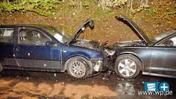 Netphen-Hainchen: Autos kollidieren frontal bei Starkregen - WP News