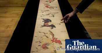 700-year-old drunken princes scroll fetches £32m in Hong Kong