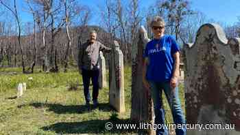 Volunteers work to restore the Hartley Vale and Mount Blaxland Reserve Trust cemetery - Lithgow Mercury