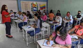 Anzoátegui: Con normalidad liceístas iniciaron clases en Guanta - Aporrea