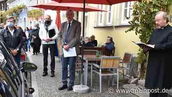 Stolperstein für Euthanasieopfer in Prichsenstadt enthüllt - Main-Post