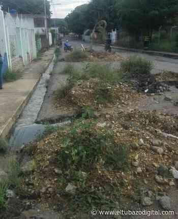ALTAGRACIA DE ORITUCO / Aguas putrefactas corren por calles de Camoruco - El Tubazo Digital