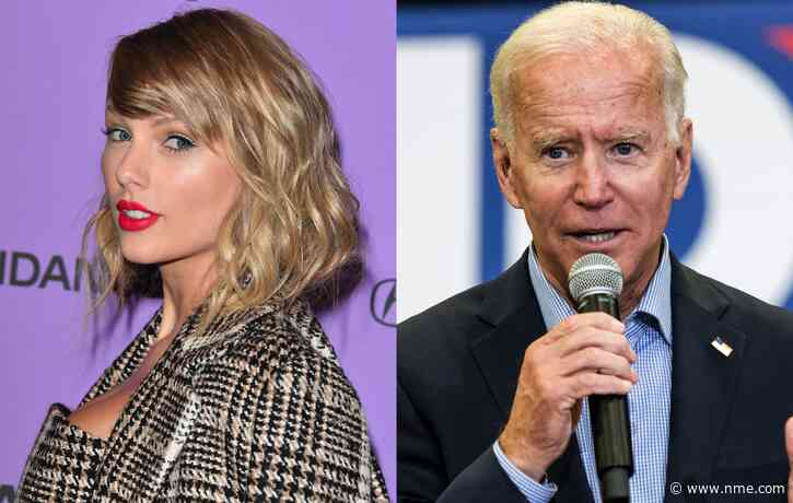 Taylor Swift officially endorses Joe Biden in new interview