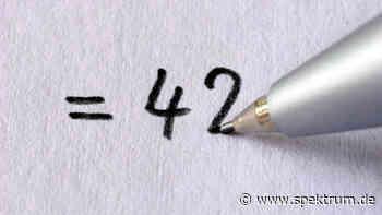 Douglas Adams: Die Geheimnisse der Zahl 42 - Spektrum.de