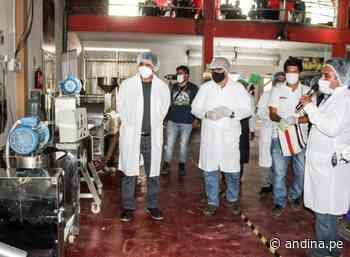 Junín: Pangoa inaugura planta agroindustrial para impulsar producción agraria - Agencia Andina
