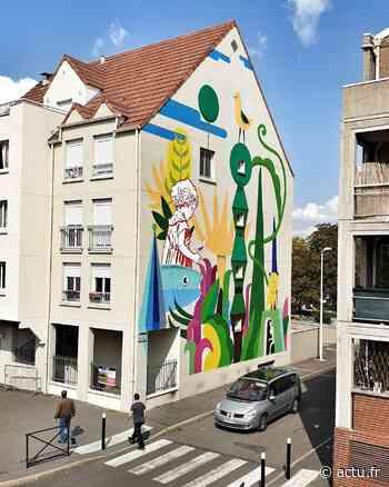 Seine-et-Marne. Street-art : une nouvelle fresque pour Moissy-Cramayel - actu.fr