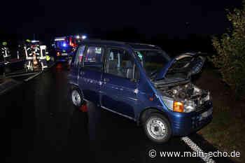 Drei Verletzte nach Unfall auf B8 bei Kleinostheim - Main-Echo