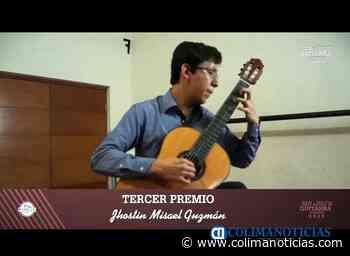 Alumno del IUBA logra tercer lugar en Festival de Guitarra de Paracho - colimanoticias