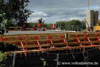 Oschersleben: Warten auf 400 Tonnen Beton - Volksstimme