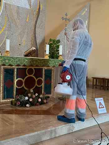 TOR LUPARA - Sanificazione della chiesa in corso - Tiburno.tv - Tiburno.tv