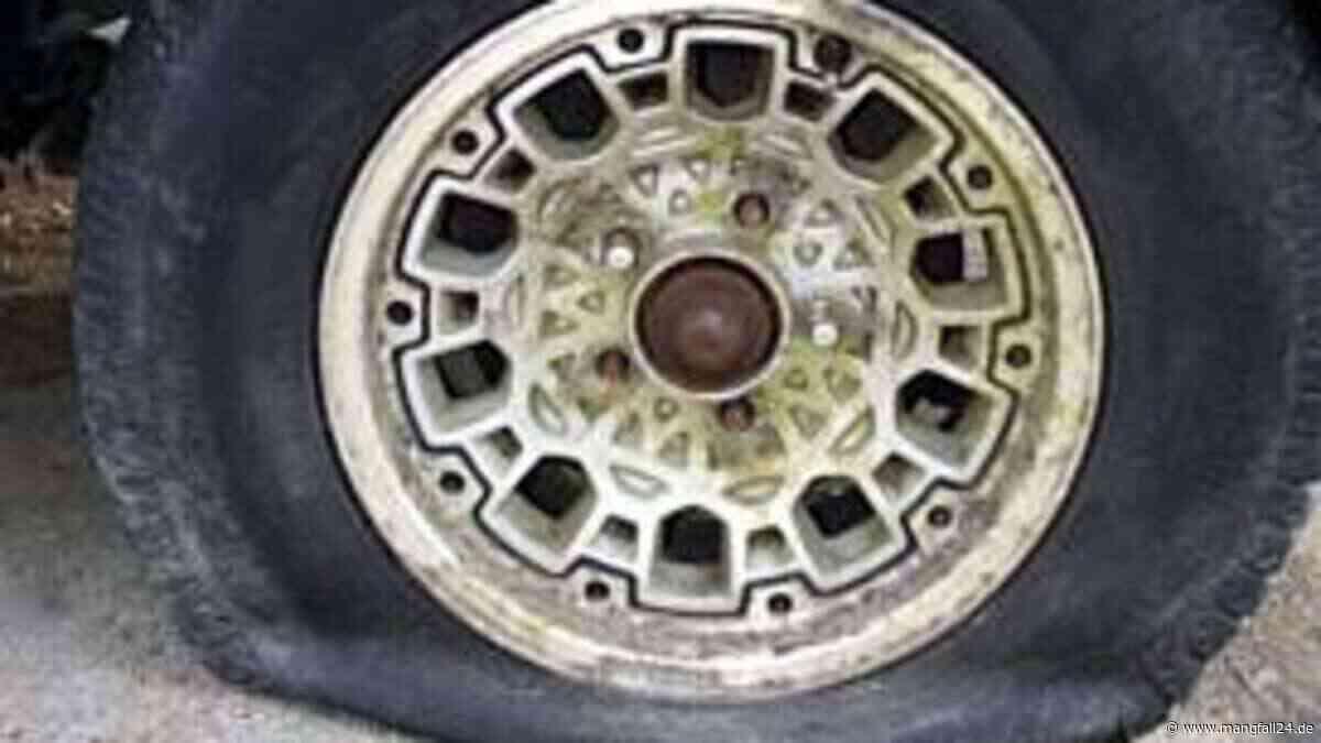 Neun Reifen an Autos in Raubling zerstochen - Polizei sucht Zeugen - mangfall24.de