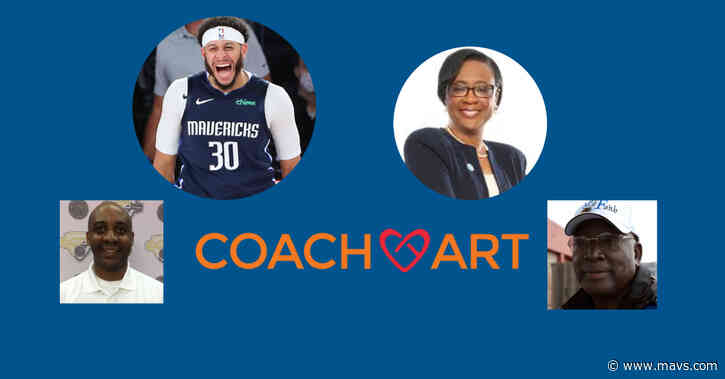 Mavs' Seth Curry and Chime Salute Coaching Heroes at CoachArt Event
