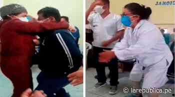 Lambayeque: trabajadores arman fiesta en centro de salud, pese a estado de emergencia [VIDEO] - LaRepública.pe