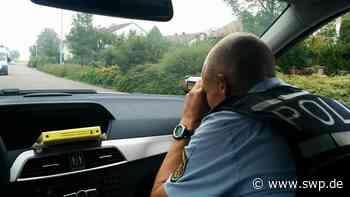 Kontrollen: Polizei stoppt sieben Temposünder in Salach - SWP