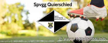 Spvgg Quierschied: Erste beim SV Mettlach zu Gast – Zweite muss auf den Kieselhumes - Regio-Journal