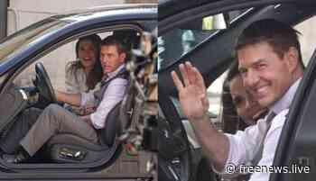 Tom Cruise and Hayley Atwell on the set of Mission Impossible 7 in Rome - FREE NEWS