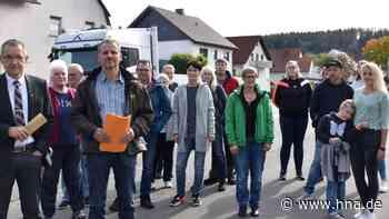 B-252-Anwohner in Bottendorf fordern Sanierung der Ortsdurchfahrt und Tempo 30 - HNA.de