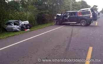 Pierde la vida en accidente vial en Huimanguillo - El Heraldo de Tabasco