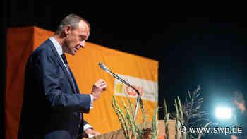 Friedrich Merz in Ilshofen: Kandidat für CDU-Vorsitz spricht in der Arena Hohenlohe - SWP