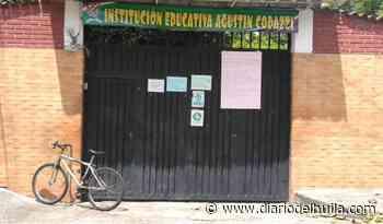 Estudiantes del colegio Agustín Codazzi a la espera de ayudas para conectividad - Diario del Huila