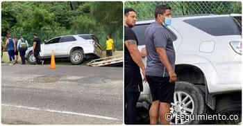 Concejal Yesid Ospino pasó 'un susto' en su carro este jueves - Seguimiento.co