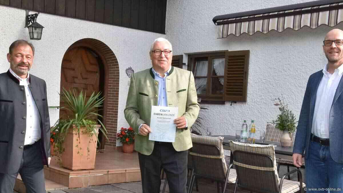 50 Jahre Mitgliedschaft im CSU-Ortsverband Stephanskirchen - ovb-online.de