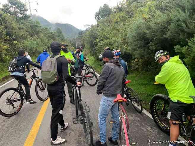 Cierre por horarios de vía Bogotá- Choachí, sin el visto bueno de la Gobernación de Cundinamarca - El Espectador