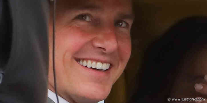 Tom Cruise Is All Smiles Filming 'Mission: Impossible 7' in Rome