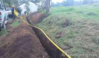 Proyecto de gasificación rural para 500 familias en Oporapa - Noticias