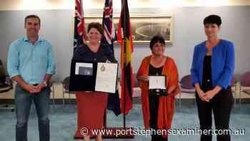 OAM formally presented to Raymond Terrace community leader Dianne Ball - Port Stephens Examiner